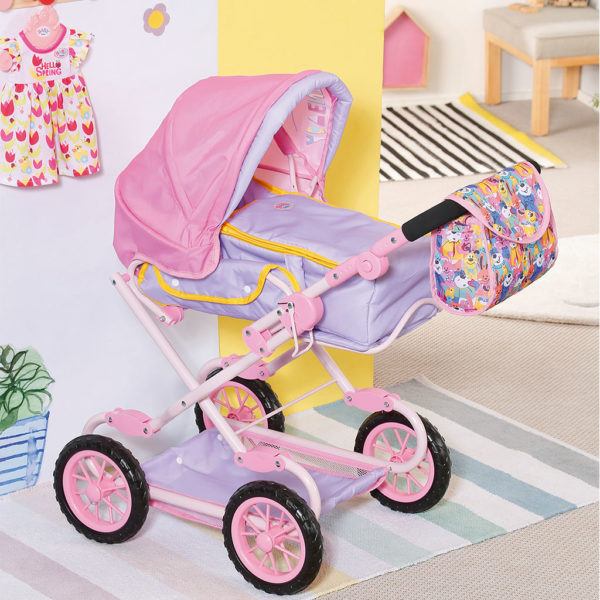 Zapf Creation Baby Born Deluxe Pram 828649