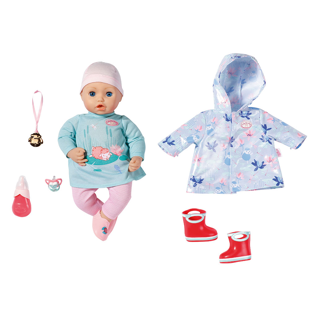 Baby Annabell and Rain Outfit   Baby Annabell