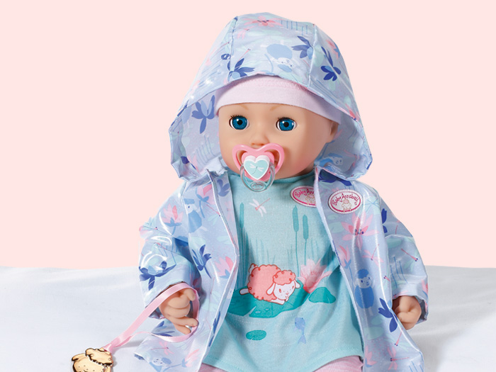 Baby Annabell and Rain Outfit - Zapf