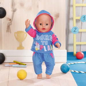 BABY born Jogging Suits 2 assorted