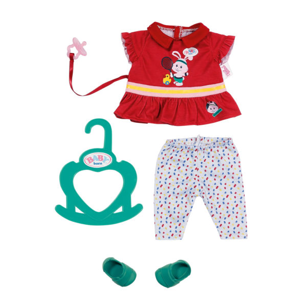 BABY born Little Sporty Outfit Red