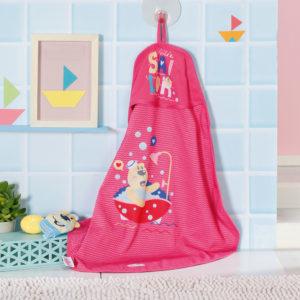 BABY born Bath Hooded Towel Set