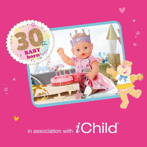 BABY born and iChild: Celebrating 30 years of BABY born!